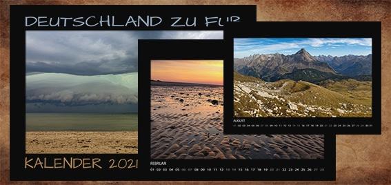Kalender Deutschland zu Fuß